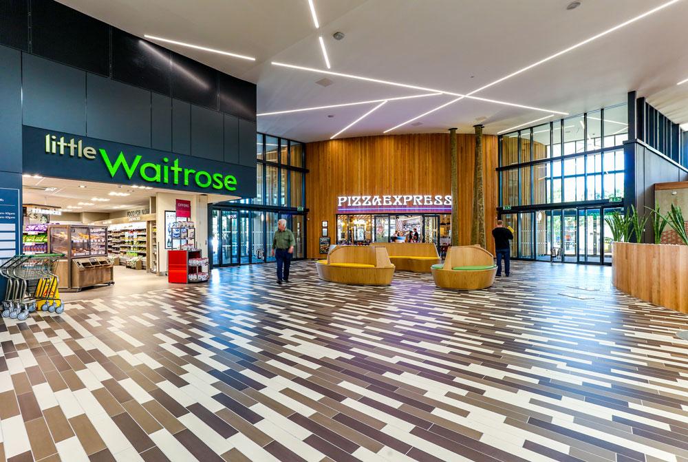 Fleet Services Little Waitrose concourse