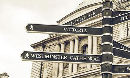 Victoria Sign