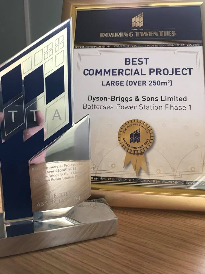 Dyson Briggs Award for best Best Commercial Project Large