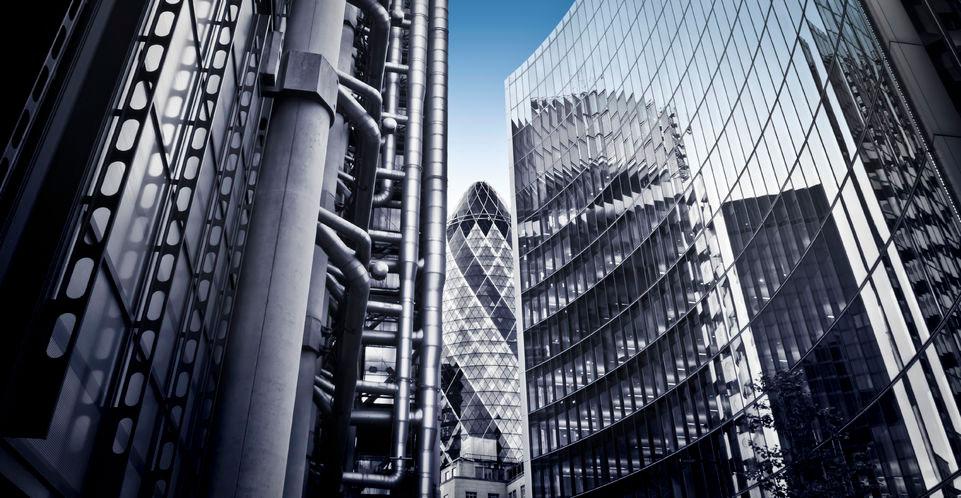 financial skyscrapers