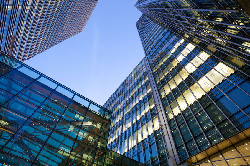 Financial tall building